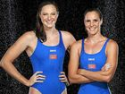 SIBLING RIVALRY: Sisters Cate and Bronte Campbell.