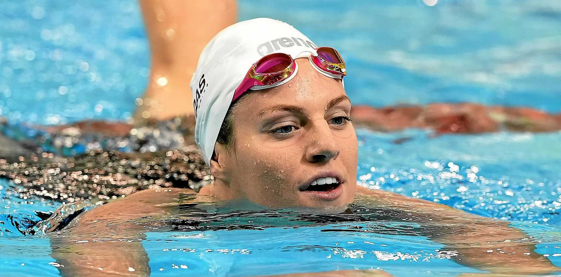 SEEKING REVENGE: Emily Seebohm hopes to go one better in Rio after taking silver in the 100m backstroke in 2012.