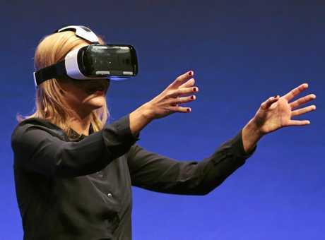 Samsung Gear VR Headset.