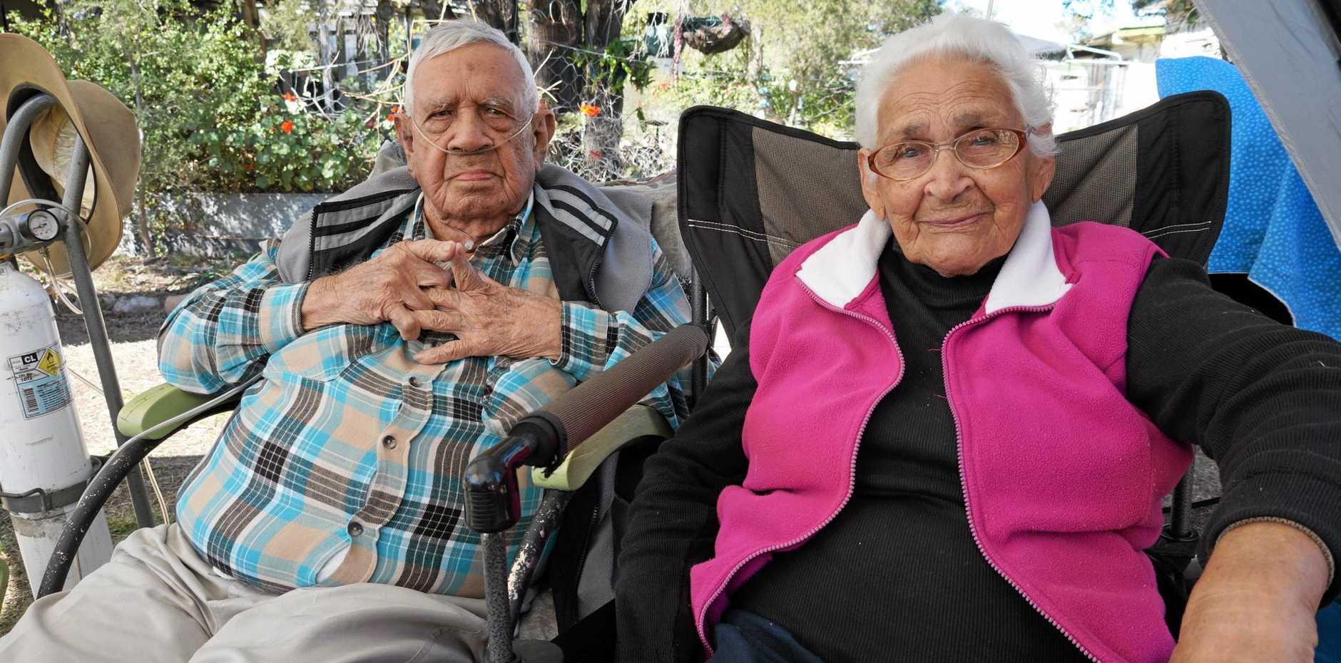 90 YEARS: Gordon and Ethel Munn.