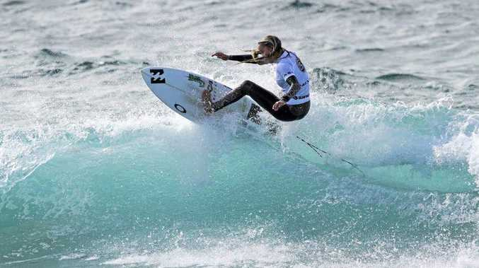 EMERGING: Coolum Beach's Isabella Nichols is the reigning junior world champion and  has an eye on the 2020 Games.