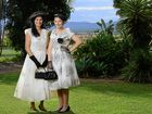 Edna-Mae Grimmett-Green has accumulated a large collection of vintage fashion and antiques with the intention of opening a museum at her Lower Mt Walker property. Models Beckie-Lee Harley and Kiralye Harley.