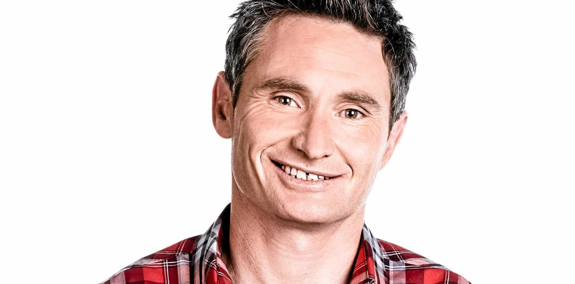 Dave Hughes is on at the Byron Bay Community Centre tonight.