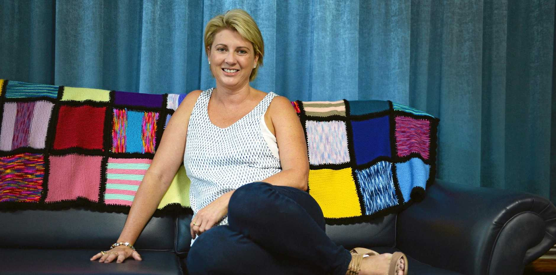 Jodie McRae of Lismore, founded Jodie's Inspiration after she began battling a rare form of breast cancer. Photo Mireille Merlet-Shaw / Northern Star