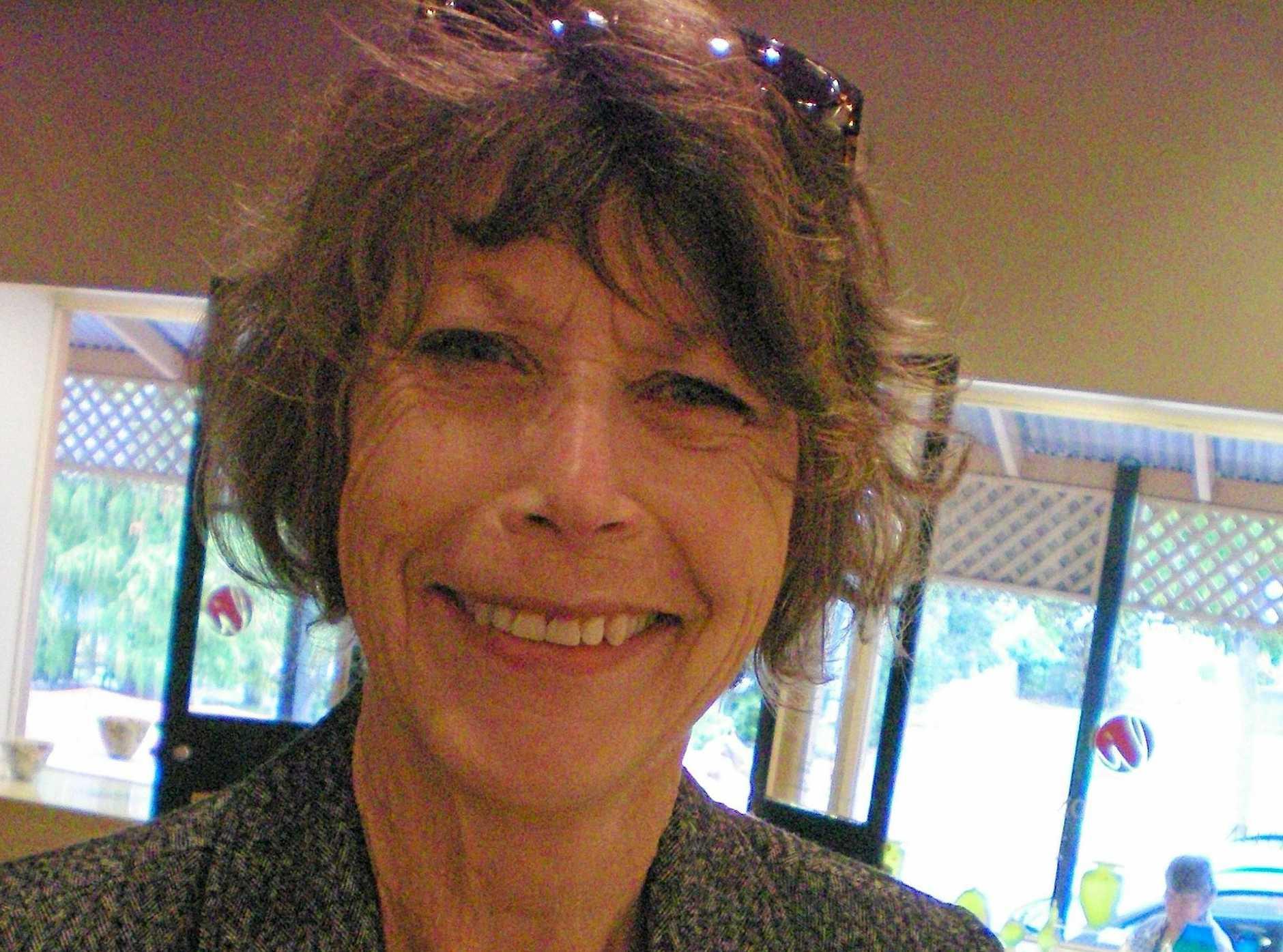 Artist Pam Walpole.