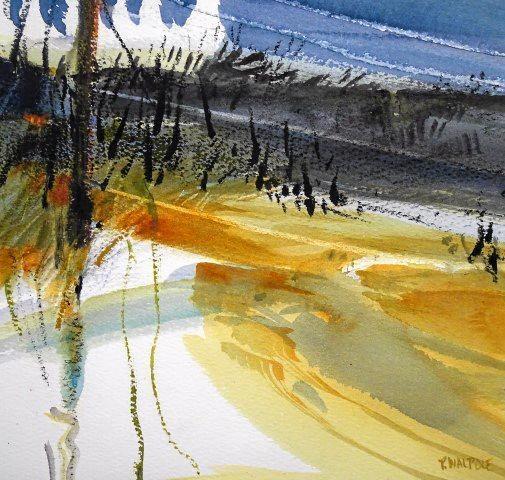 Pam Walpole's Mudflats and Mangroves II.