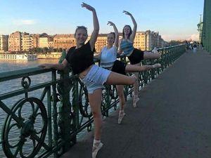 Ballerinas impress in Budapest class