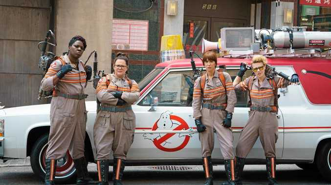 WHO YA GONNA CALL: The new Ghostbusters movie is now showing at the Moncrieff.