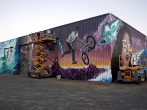 Graffiti shows off $400m Sunshine Coast project