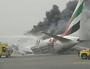 Two Aussies in fiery plane crash landing