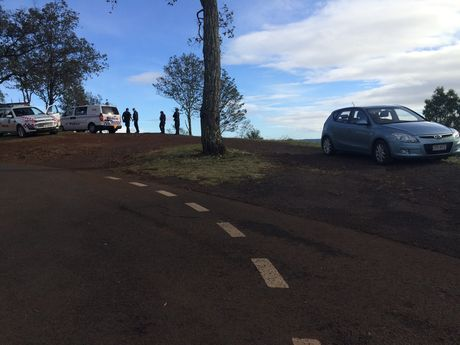 Missing man found on edge of Toowoomba Range