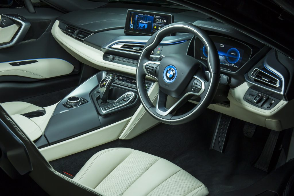 BMW i8. Photo:Mark Bean