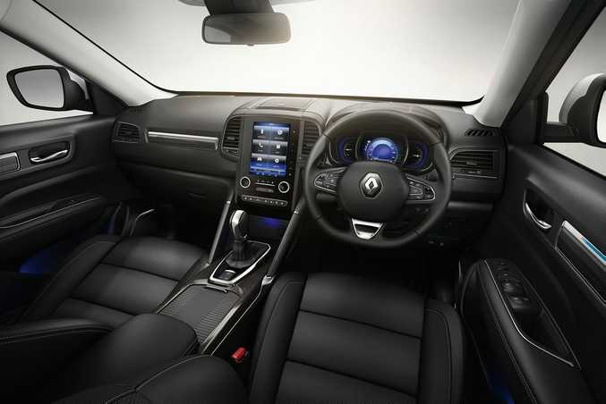2016 Renault Koleos SUV. Photo: Contributed