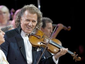 Box office seat to Andre Rieu's performance at home