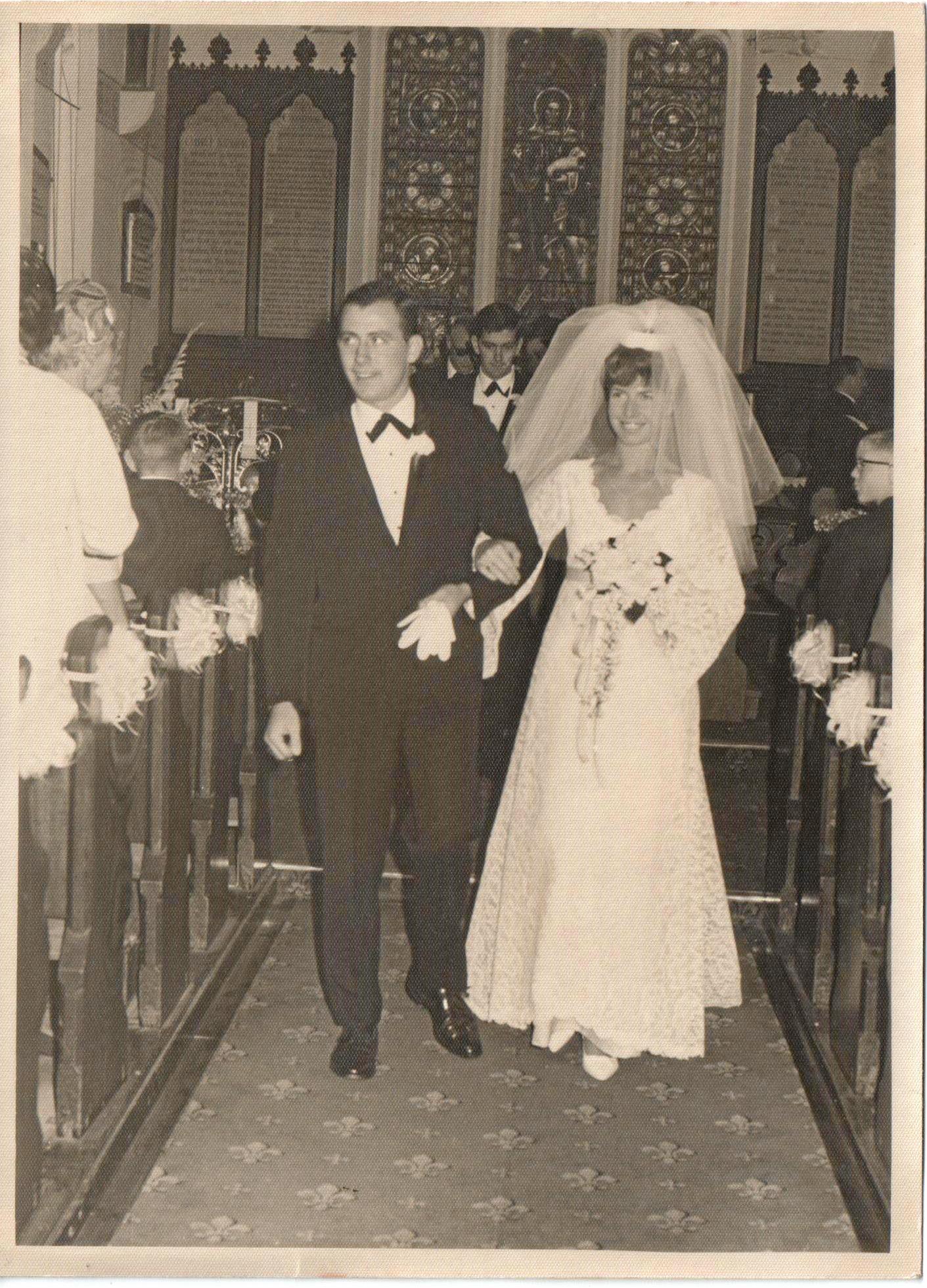 Doug and Wendy Ruttan.