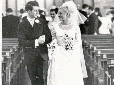 Peter and Sheila Mason.