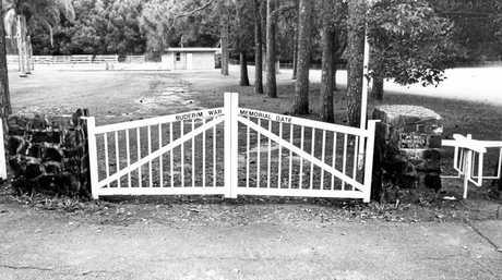 Buderim War Memorial Gate, King Street, Buderim.