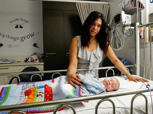 Mum fights for baby's life after rare diagnosis