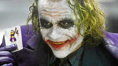 Heath Ledger as the Joker from The Dark Knight. Photo: Warner Bros Entertainment