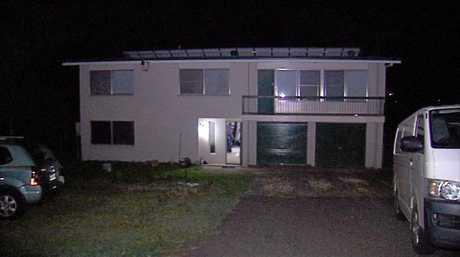 The Golf Links Dr grow house located on Gatton Thursday night.
