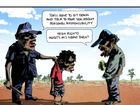 Bill Leak's cartoon as published in The Australian this week.