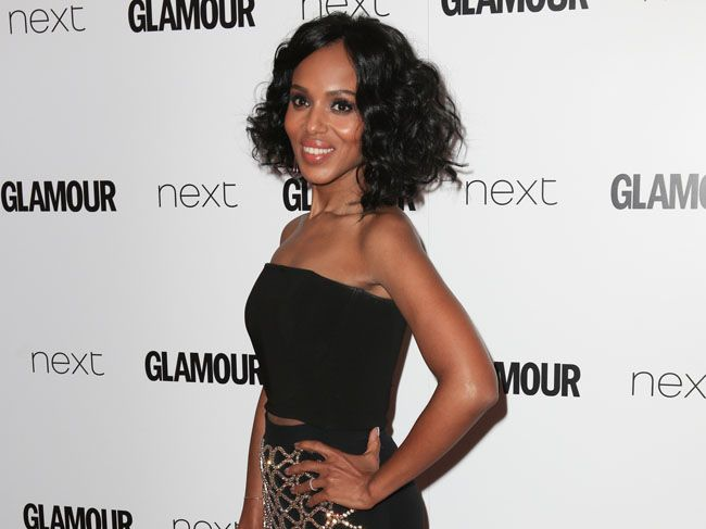 Scandal actor Kerry Washington.