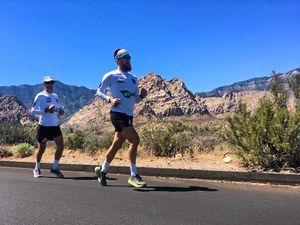 Ultra-marathon desert race a test of fatherly love