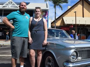 Classic cars come out for reef festival