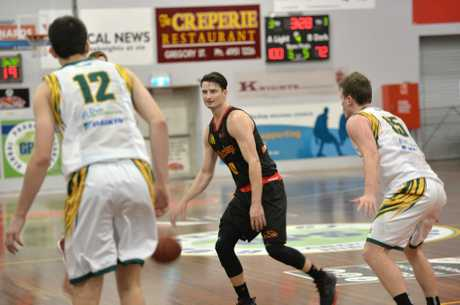 Shaun Bruce scored a massive 22 points and six rebounds. Photo Madolyn Peters / Daily Mercury