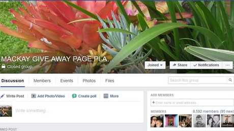 Mackay giveaway page – plants, garden supplies, outdoor, building supplies. It's basically greenie heaven.