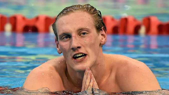 Australian gold medallist Mack Horton