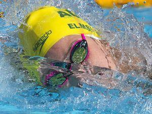 Elmslie a part of Olympic record-breaking team