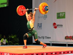 World's second fittest woman muscles up for Rio Olympics