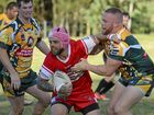 STRONG SHOWING: South Grafton Rebels' hoooker Rhys Walters was inspiring for the visitors in their dominant second half performance against the Orara Valley Axemen at Coramba Sports Oval.