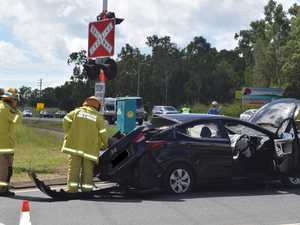 Two vehicle crash at notorious intersection