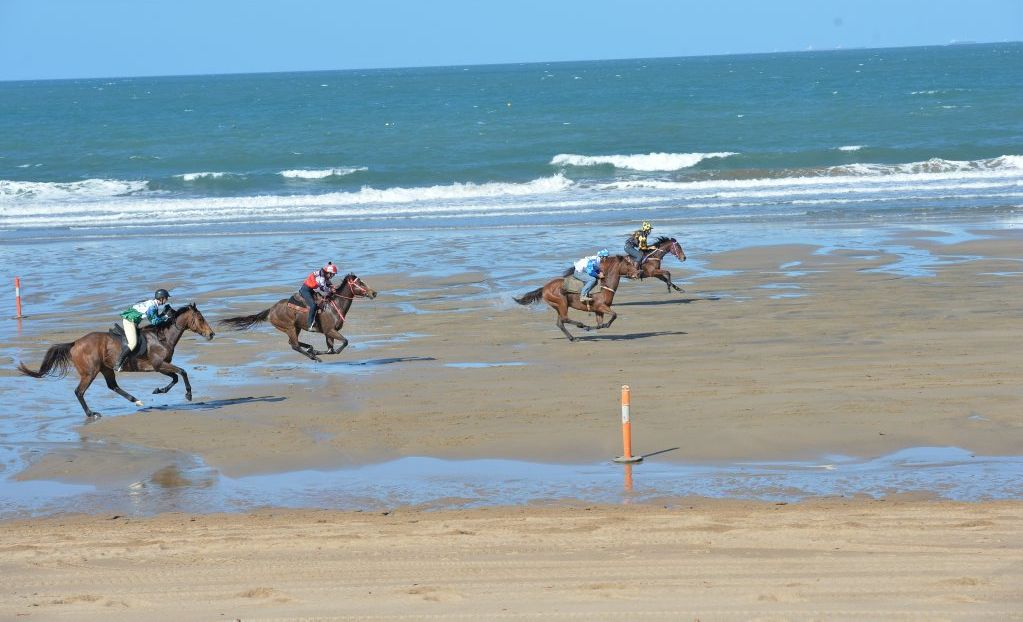 A new game will bring betting to the Mackay Airport Beach Horse Racing Festival for the first time this year.