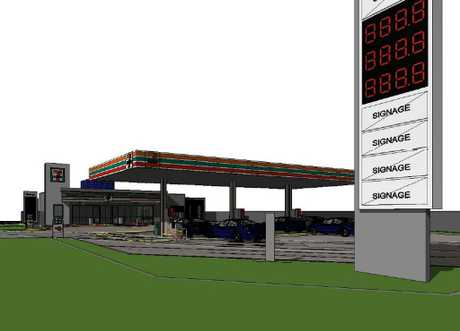 A 7-Eleven is being proposed for the corner of West and Stenner Sts