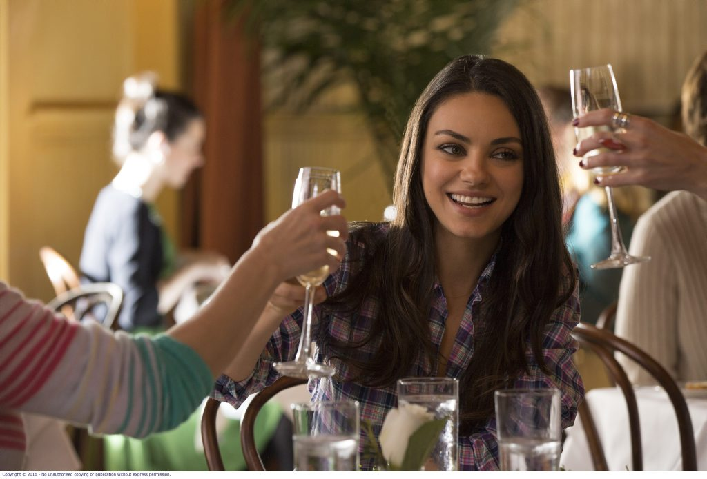 Mila Kunis in a scene from the movie Bad Moms.