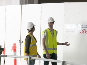 TAFE students tour Grand Central development