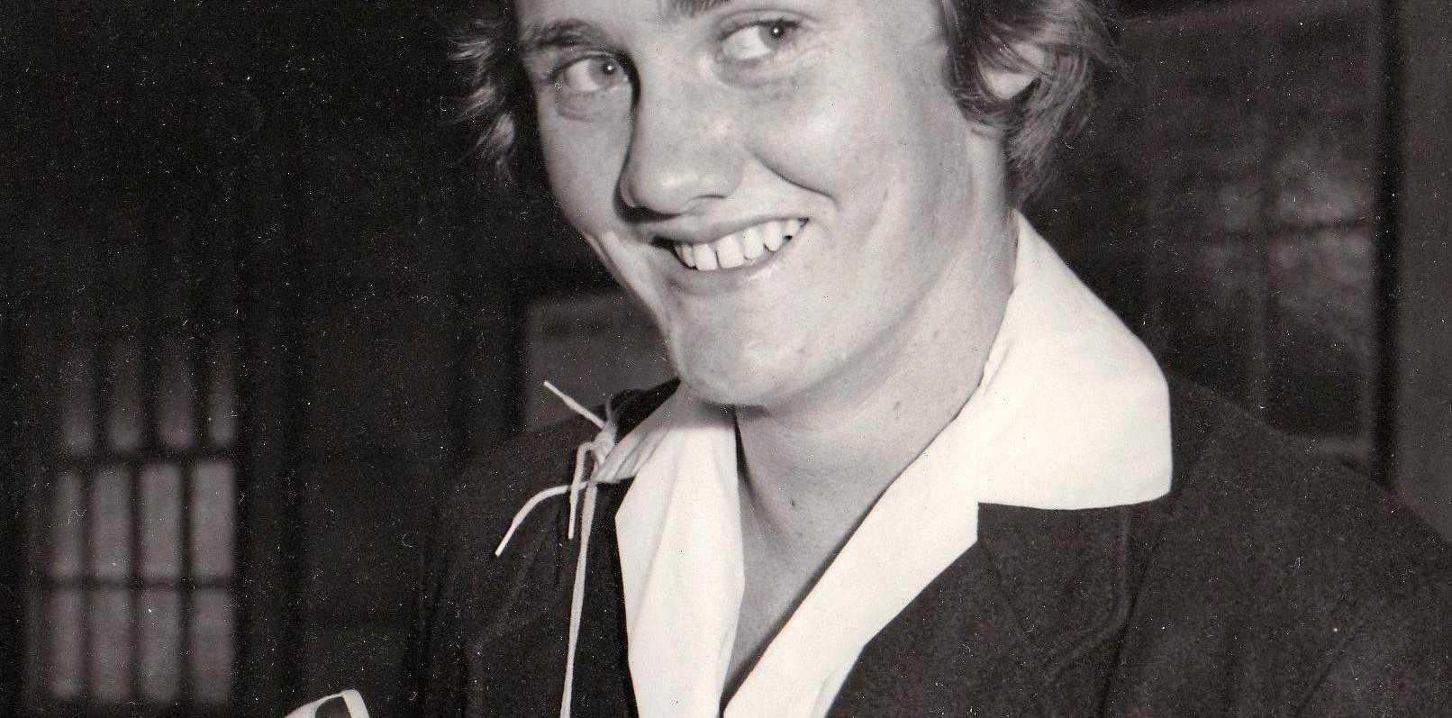CHAMPION ATHLETE: The late Brenda Laidlaw (nee Cox).