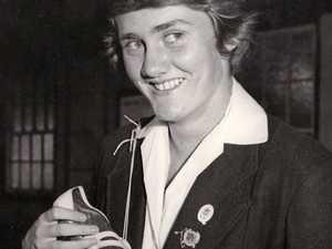 Gold medallist Brenda Laidlaw was always a country girl