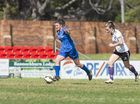 Tiffany Dibley for South-West Thunder against The Gap in NPL Queensland women's football at Clive Berghofer Stadium, Sunday, August 7, 2016.
