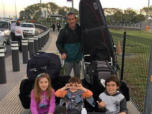 Coast family's silk road to Rio