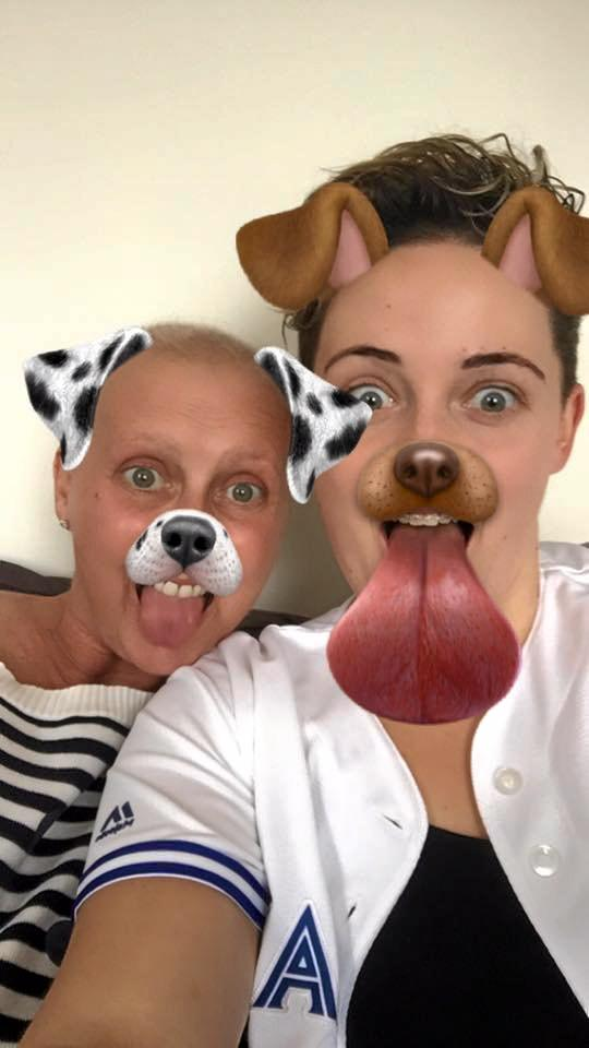 Jodie McRae pictured over the weekend with daughter Kaela in a photo that was posted on Facebook.