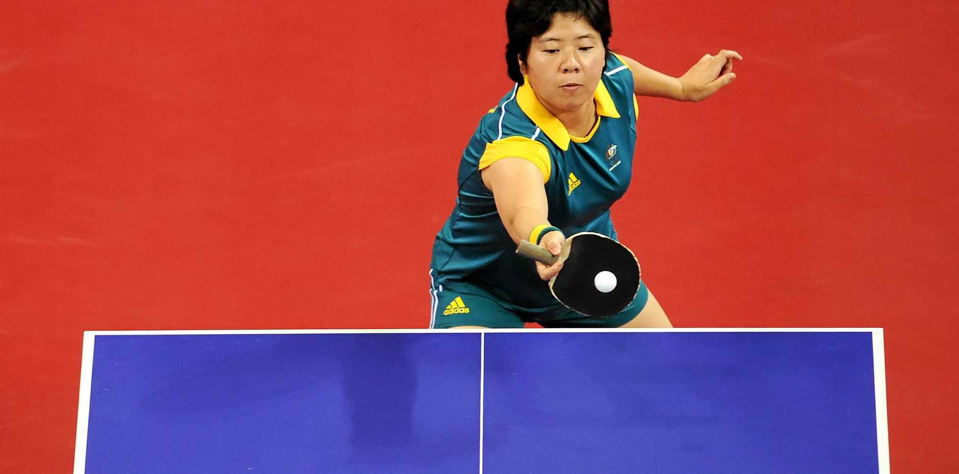 Lay equalled Australia's best table tennis result at an Olympics.