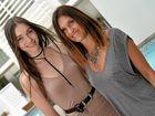 Model ambassador Tayla Spier and Sunshine Coast Fashion Festival director Jacinta Richmond.