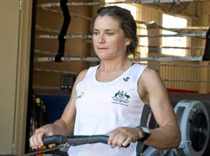 Toowoomba rower on schedule as wind hits Lagoa