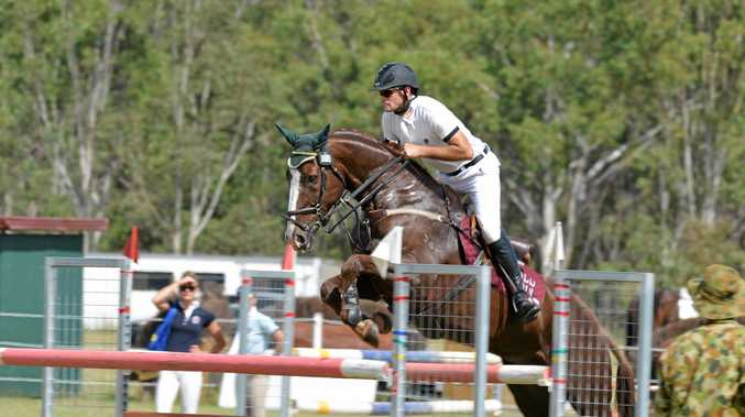 Olympian, Stuart Tinney was just five when his father Brian put him on a horse.