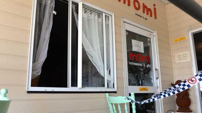 Momi Homewares & Gifts at Bucasia was broken into.