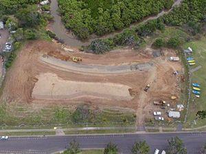 Works progressing on lagoon pool project